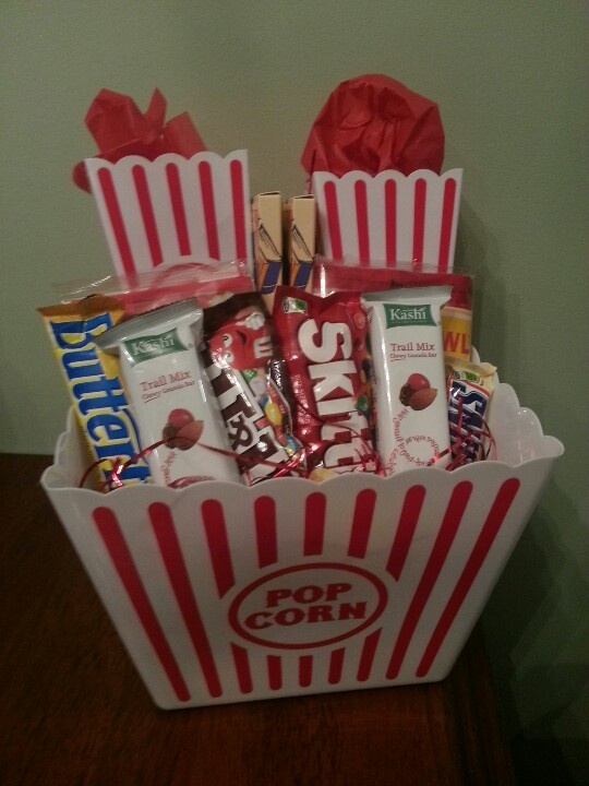 ideas about popcorn gift baskets dollar store