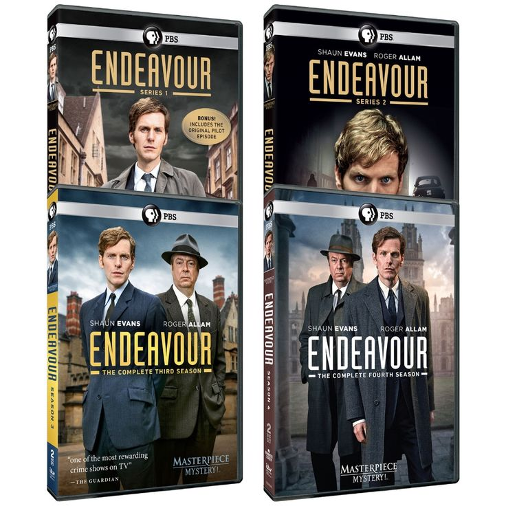 Masterpiece Mystery!: Endeavour Season 1-4 DVD Combo