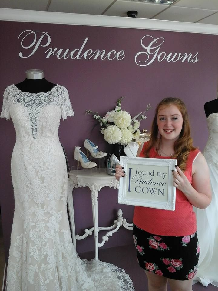 Bethany found her #promdress for her #prom in our #Plymouth store today. YAY! #DressingYourDreams #PrudenceGowns