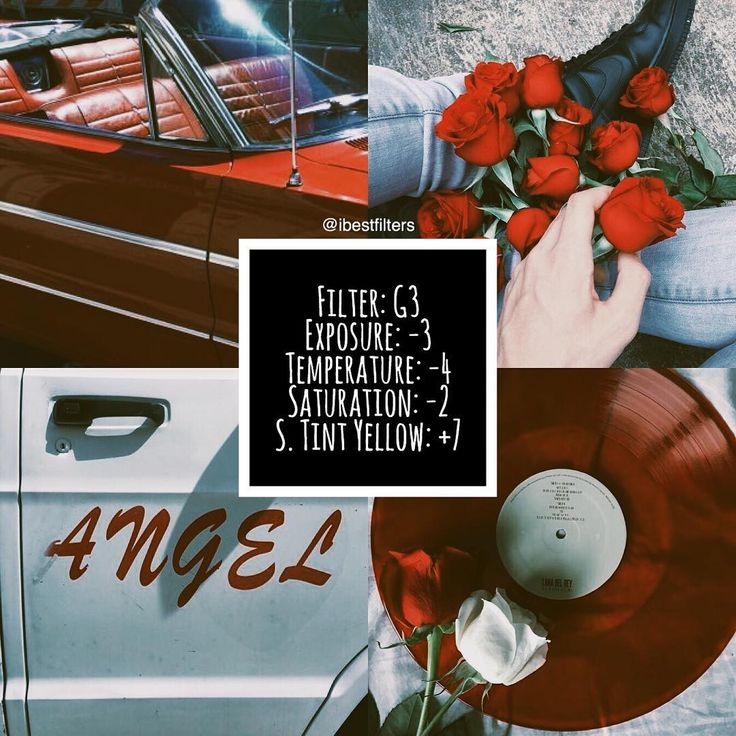 #G3bfilters / free filter❕ 90's feels & fade toned filter. i really love this cause it looks like one of those old vintage tv shows. works specially for a red theme/feed with some white as well  — ROSES or SUNFLOWERS? coment you fav / I like roses