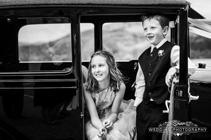 Kids enjoying being a part of the bridal party. Check out other wedding photography by Anthony Turnham at www.snapweddingphotography.co.nz