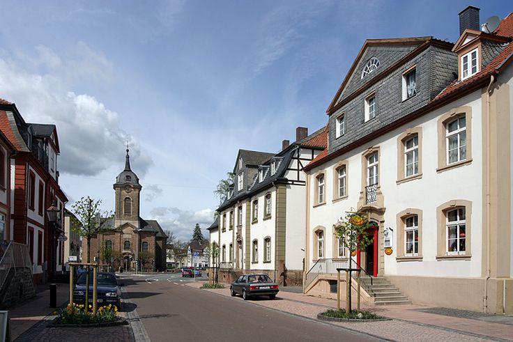 Innenstadt Bad Arolsen / Nordhessen