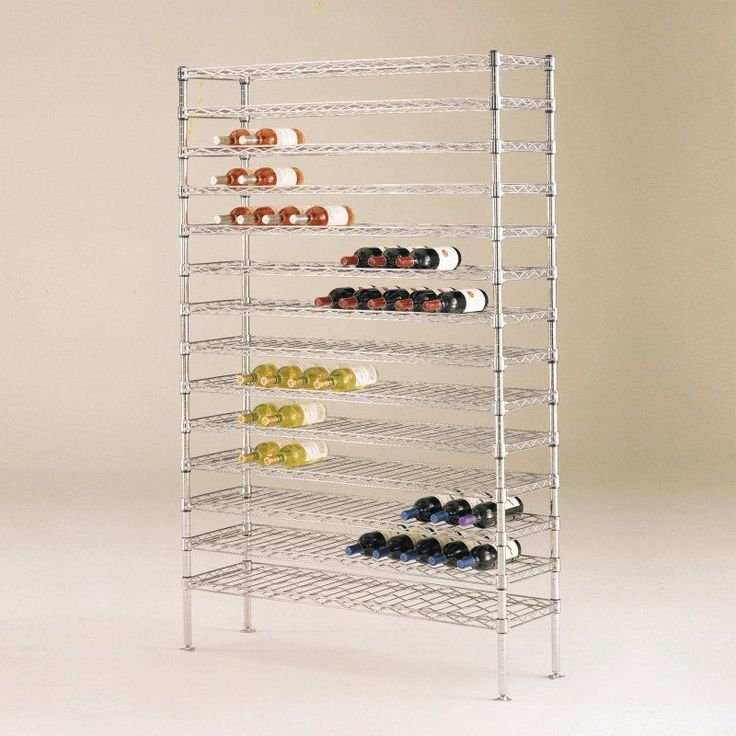SuperErecta 126-Bottle Wine Shelving Rack - WC237C