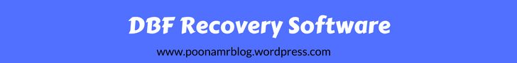 Try the DBF Recovery Software to recover the structure of table, fields and data from corrupt database files which was stored in dBase and Visual FoxPro files.