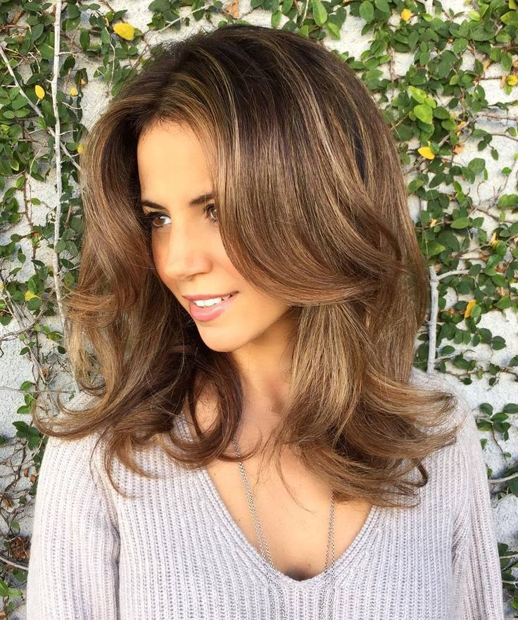 662 best images about hairstyles on pinterest wavy hair - Meche caramel ...
