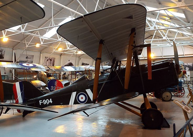 Royal Aircraft Factory SE5a 1917 Shuttleworth Collection