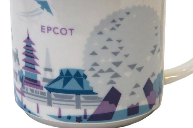 "News! Starbucks ""You Are Here"" Mugs For Sale Again in Epcot"