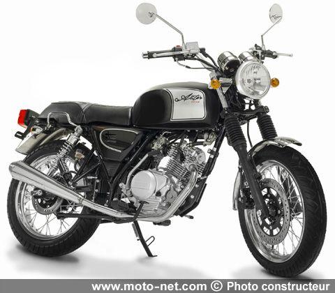 Orcal Astor 125 : nouvelle moto 125 néo-rétro