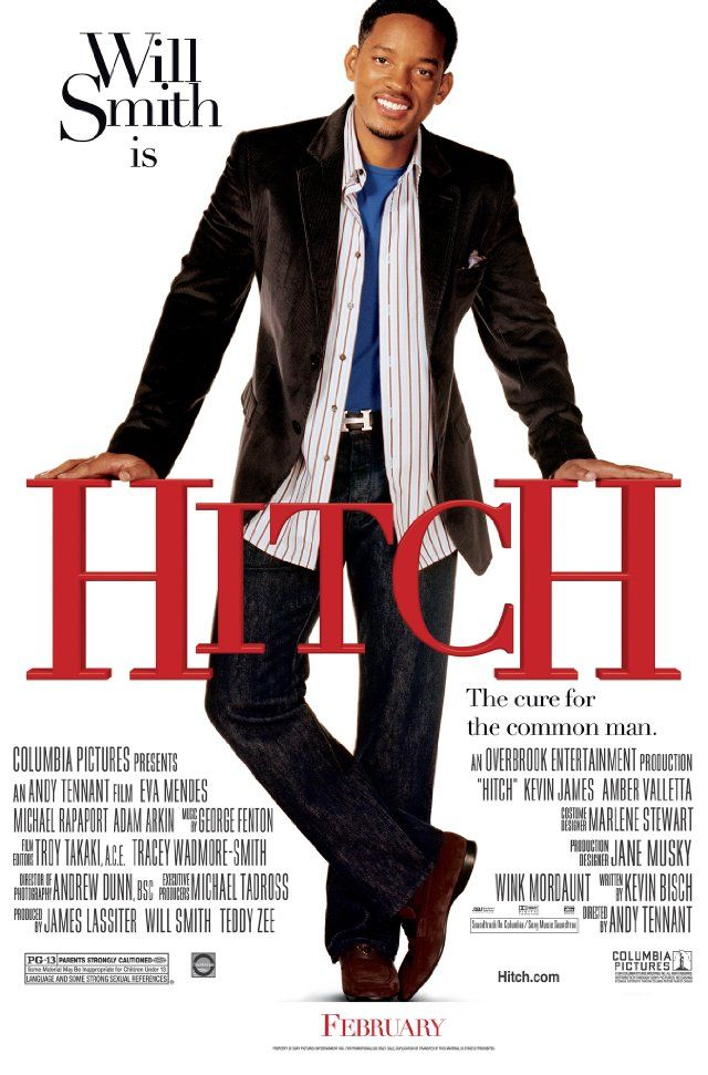 """334 Days-Romantic Films Till Valentine's ... """"HITCH""""... Will Smith is charming, no Six Degrees but has range. 'LOVE STORY Ad DATING EXPERT W/ ISSUES'.   Witty, Hip Rom-Com can't decide if it's a buddy movie. K. James is Xlent, it'works but less is more . Saving grace is the acting. Somewhere's u'll relate & that's the hook. Better  than online dating? Hope springs eternal.  Best Line: Never lie, steal, cheat, or drink ....... no not like that, see movie for the rest. Dancing seals the deal."""