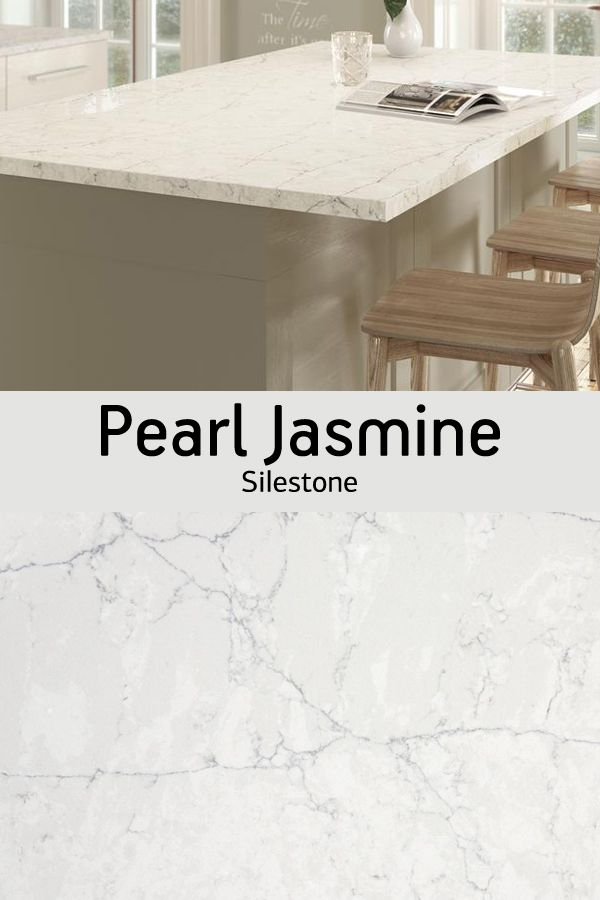 Need Countertop Design Inspiration Silestone Pearl Jasmine Features Light Veining To Look Like Marble