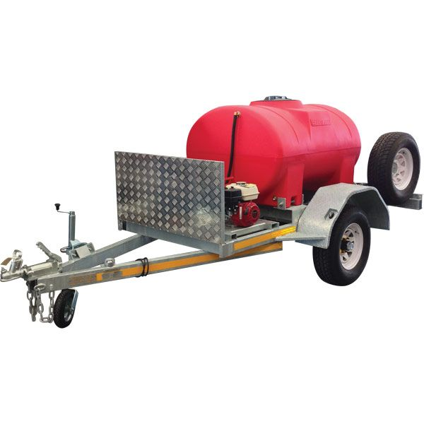 Petrol Fire Fighting Units. This popular Fire Fighting Trailer is ideal for fire fighting, controlled burn-offs, high speed water transfer, for pumping out water from flooded areas, and even for sheep jetting and stock watering.