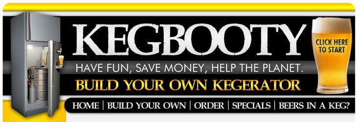 KegBooty, this is a great site to help turn a fridge into a money saving tap!