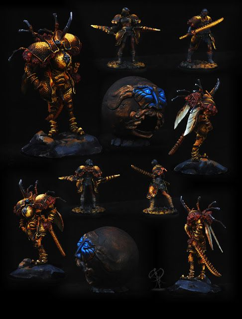 SpiralingCadaver: Don't Take Any Shit - Kingdom Death Dung Beetle Knight and Survivors