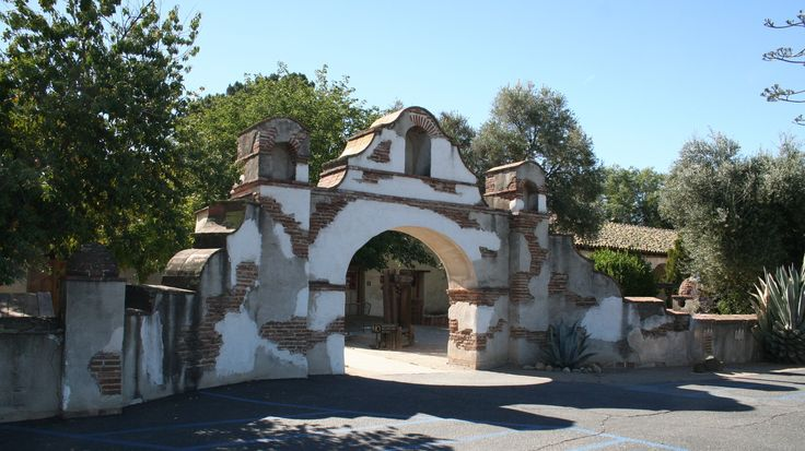 Another entry gate to the San Miguel Arcangel Mission, San Miguel, Ca.