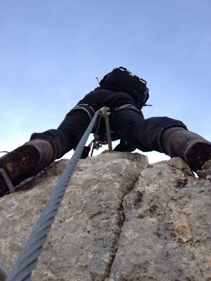 Traum-Klettersteig: Der Fünf-Gipfel-Klettersteig im Rofan: www.hikeandbike.de