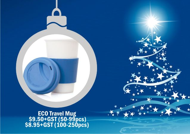 Eco Travel Mug. For corporate gift ideal talk to Wizid Promotions by calling 1300 4 WIZID.