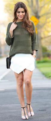 Short assimétrico da Zara