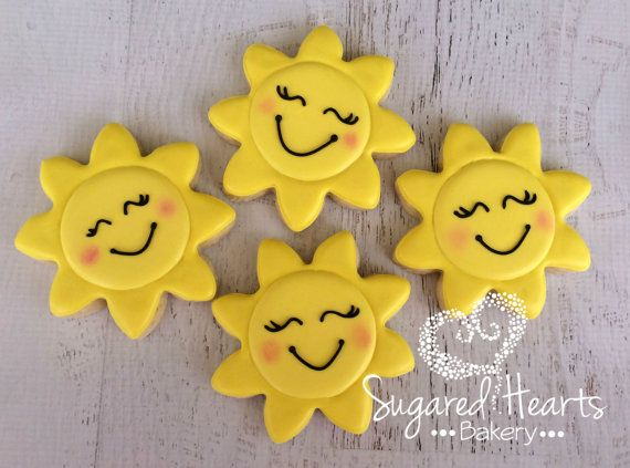 Sunshine Sun Cookies - 1 Dozen                                                                                                                                                                                 More