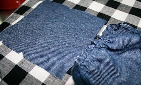 Five and Counting....: Portfolio In Linen & How to do the pockets