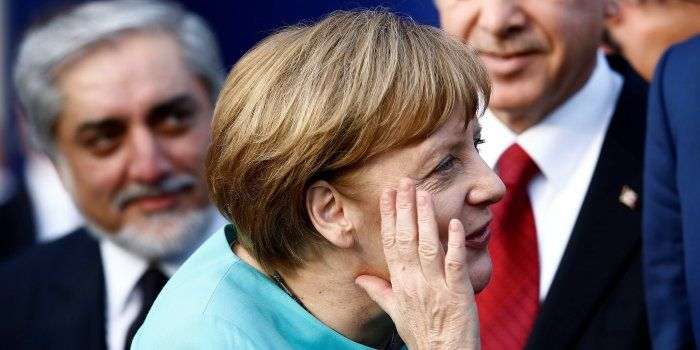 Can Merkel Manage the 'Axis of Testosterone' as Trump, Putin and Erdogan Descend on Germany?