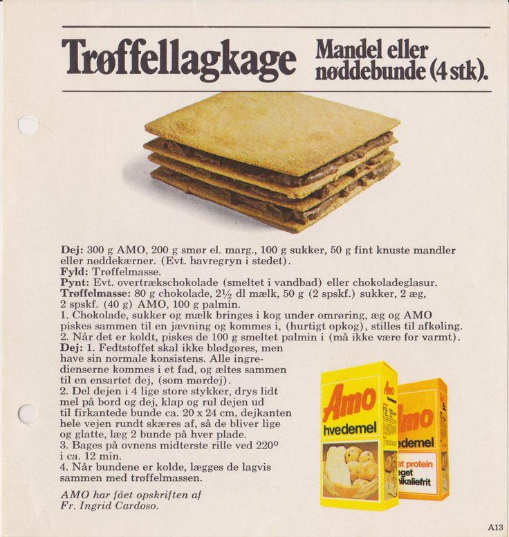 Trøffellagkage Mandel eller Nøddebunde ( 4 stk )...
