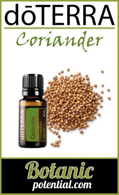 CORIANDER Essential Oil by doTERRA