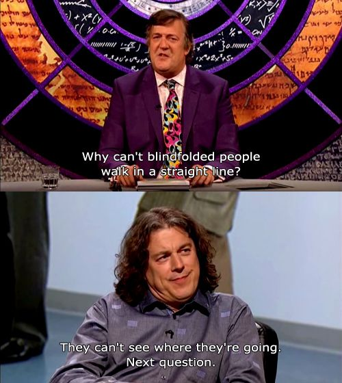 A very good reason as to why Alan Davies is best