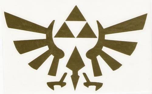 Triforce autocollants vinyle autocollant Zelda link Logo de