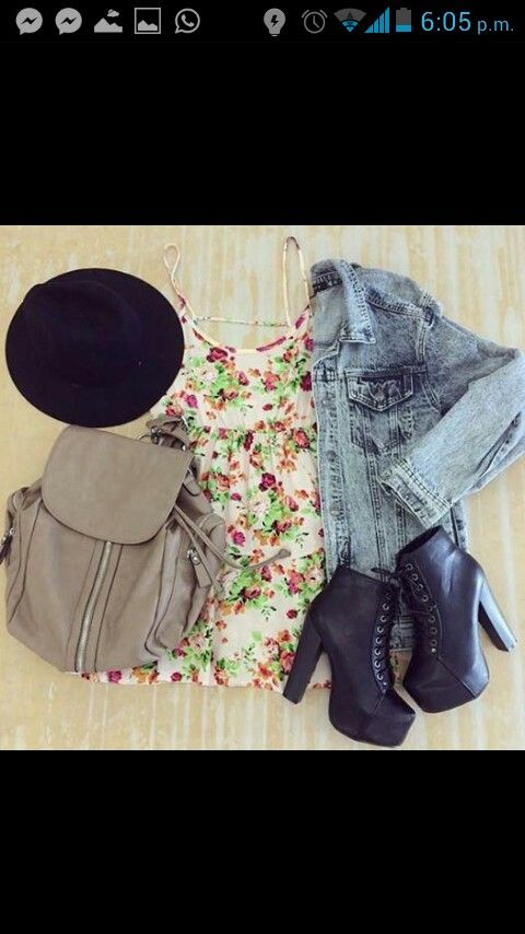 gorrito blusa chamarra  botines mochila hermoso <3
