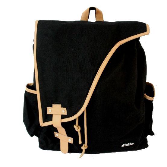 tas ransel vintage,,  pulcher bags - corvus black Rp. 219.000 085.7722.555000 -- tasranselvintage.com