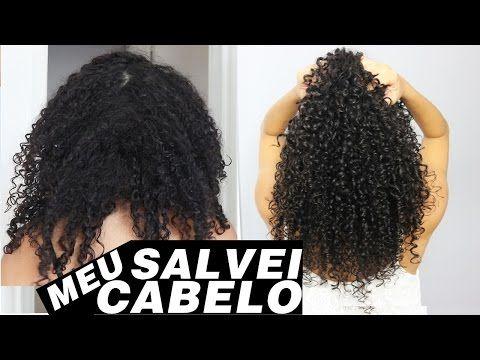 COMO RECUPERAR CABELO EXTREMAMENTE DETONADO EM CASA - Jaqueline Santos - YouTube