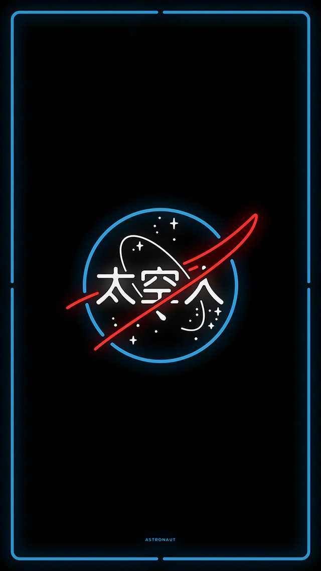 Neon-NASA – #NeonNASA #wallpaper