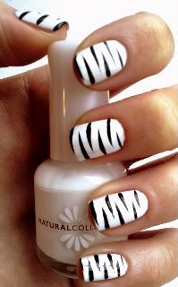 zebra nails