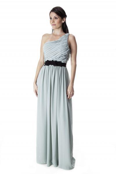 Vestido celeste, Atelier Fashion.