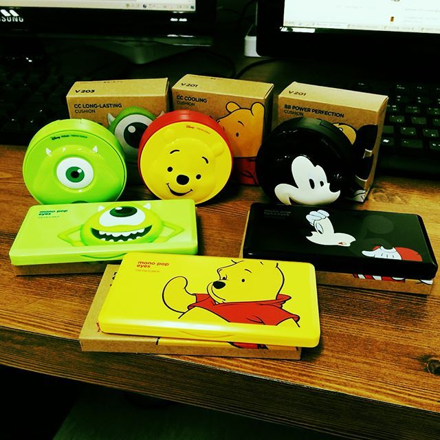 The Face Shop x Disney Collaborations :D