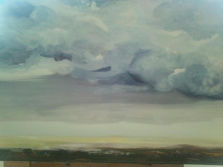 Dutch sky. by Suzanne van den Driest