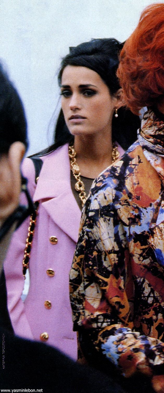 yasmin le bon 1999 Chanel runway | Yasmin Le Bon - personal
