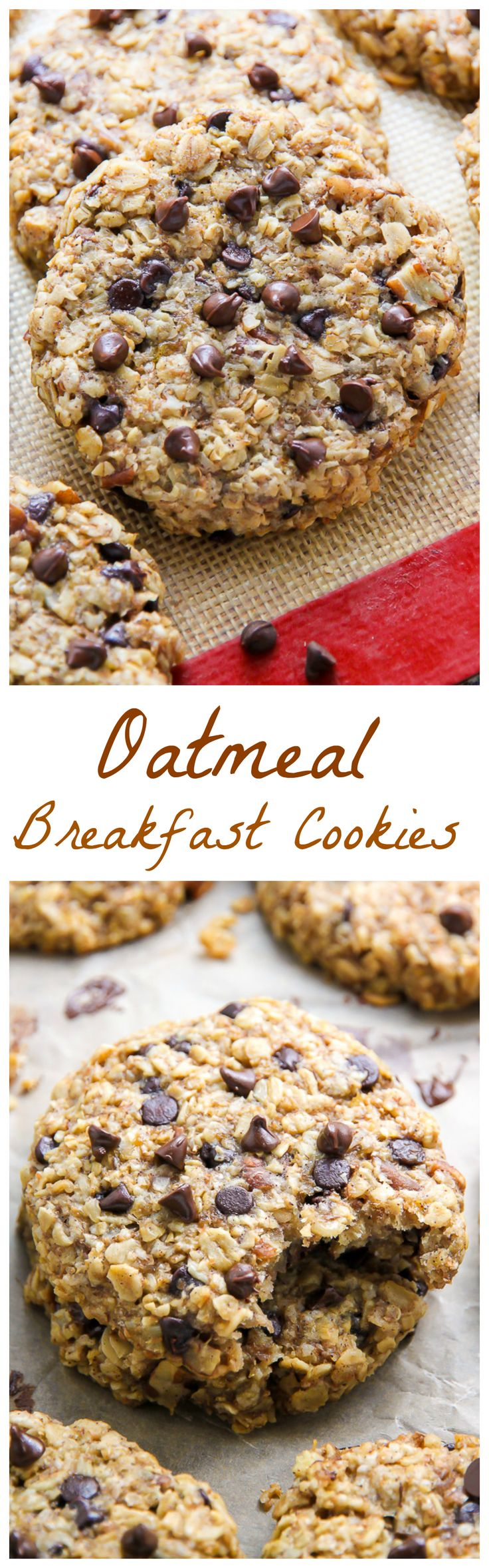 Cookies that taste like banana bread with chocolate:) Whole grain kids' snack!