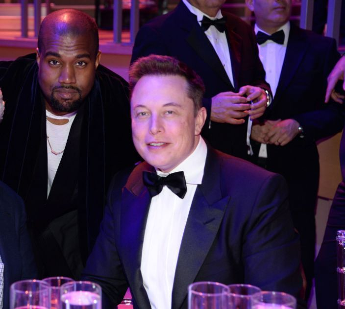 Kanye West And Elon Musk Bro Down With Grimes As Their Witness In 2020 Kanye West Kanye Grimes