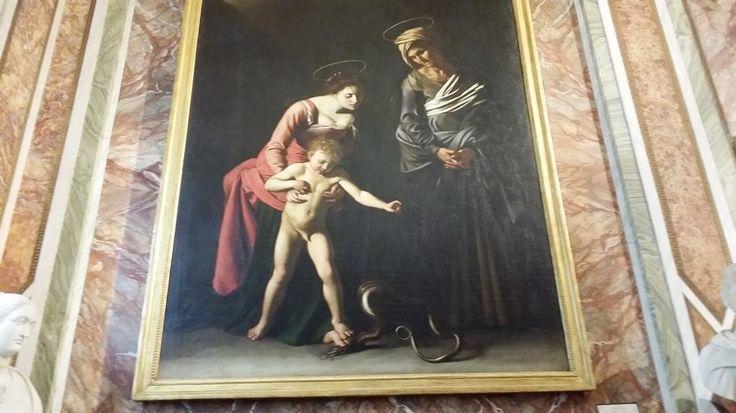 6 tablouri de Caravaggio intr-o singura sala, Sala Silen din Galleria Borghese