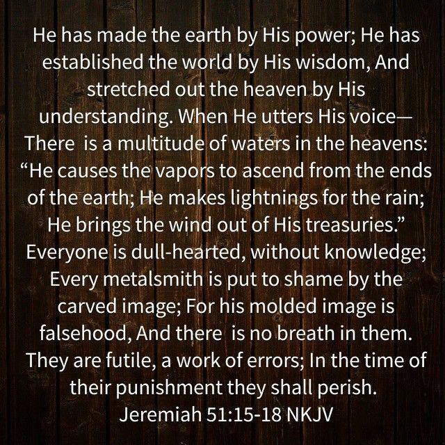 Isaiah 51:15-18