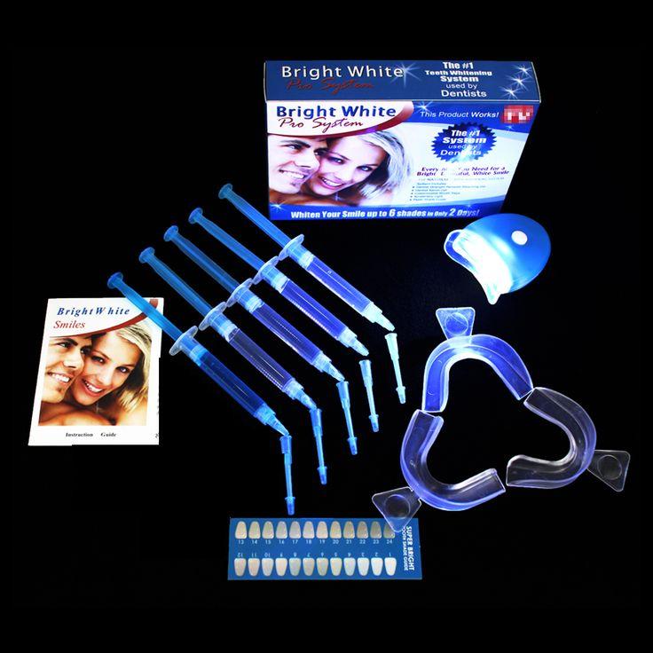 EZGO 35%CP Professional Teeth Whitening Kit  Whitelight Bright  White Smiles Bleaching System Tooth Whitening Kit  Free Shipping