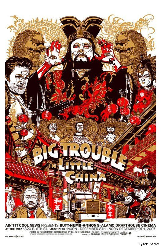 mondo poster big trouble in little china