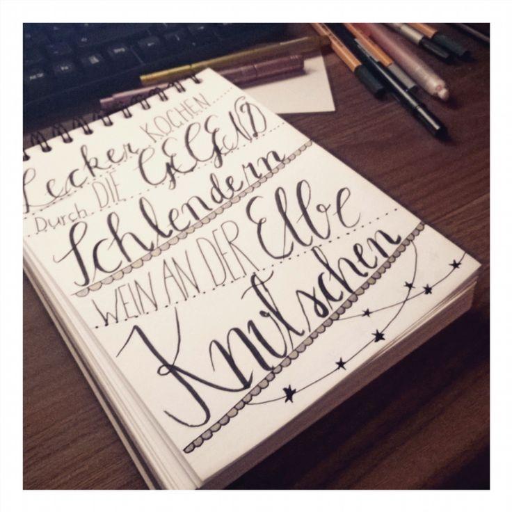 auf der Suche nach einem Hobby. #wahrscheinlichgefunden #handlettering #lettering #handwriting #frauannika #buchstaben #letters #hobby #maybe #diy #doityourself #selfmade #invitation #formyboy #datenight