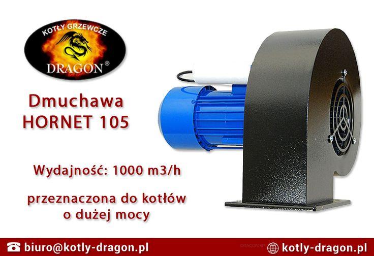 🌬 Dmuchawa Hornet 105 to urządzenie o dużej wydajności przeznaczone do napowietrzania kotłów zasypowych o dużej mocy. Silnik o mocy aż 550W zapewnia dużą wydajność, sięgającą aż 1000 m3/h. ℹ Więcej o dmuchawie: https://www.kotly-piece.pl/dmuchawa-hornet-105.html #akcesoriadokotłów #kociołzasypowy #ekogroszek