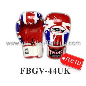 New Twins Special Fancy Boxing Gloves United States Flag FBGV-44UK
