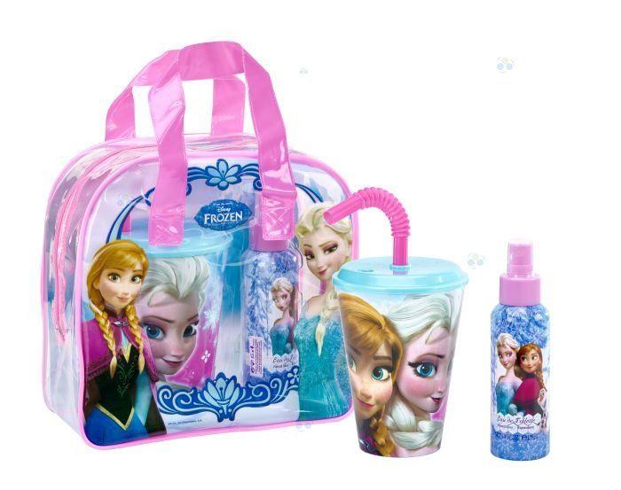 Frozen torba+ body spray 100ml+plastikowa szklanka * - Kosmetyki dla dzieci