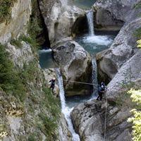 canyoning verdon - Saint-Auban