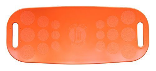 Simply Fit 30044 The Abs Legs Core Workout Balance Board (Orange)... Simply Fit Board – THE WORKOUT BOARD WITH A TWIST – The fun, easy way to engage your core and get fit in minutes a day! The product that Lori Grenier foundUnique twisting motion and bala https://uk.pinterest.com/uksportoutdoors/home-gyms/pins/