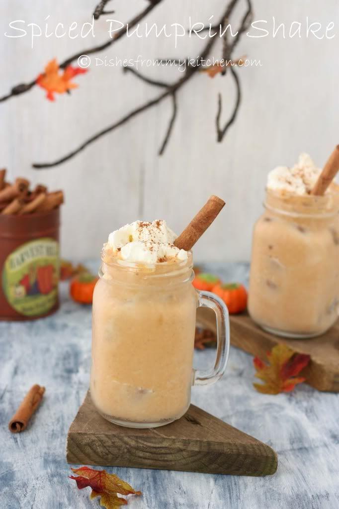 SPICED PUMPKIN SHAKE !!!  FoodBlogs.com